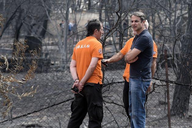 Τα 5 γιατί του Κυριάκου Μητσοτάκη για τους χειρισμούς της κυβέρνησης σχετικά με τις πυρκαγιές στην Ανατολική