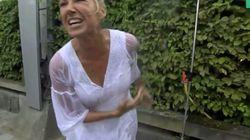 ZDF-Frau Kiewel duscht vor Kameras – dann merkt sie, was Zuschauer