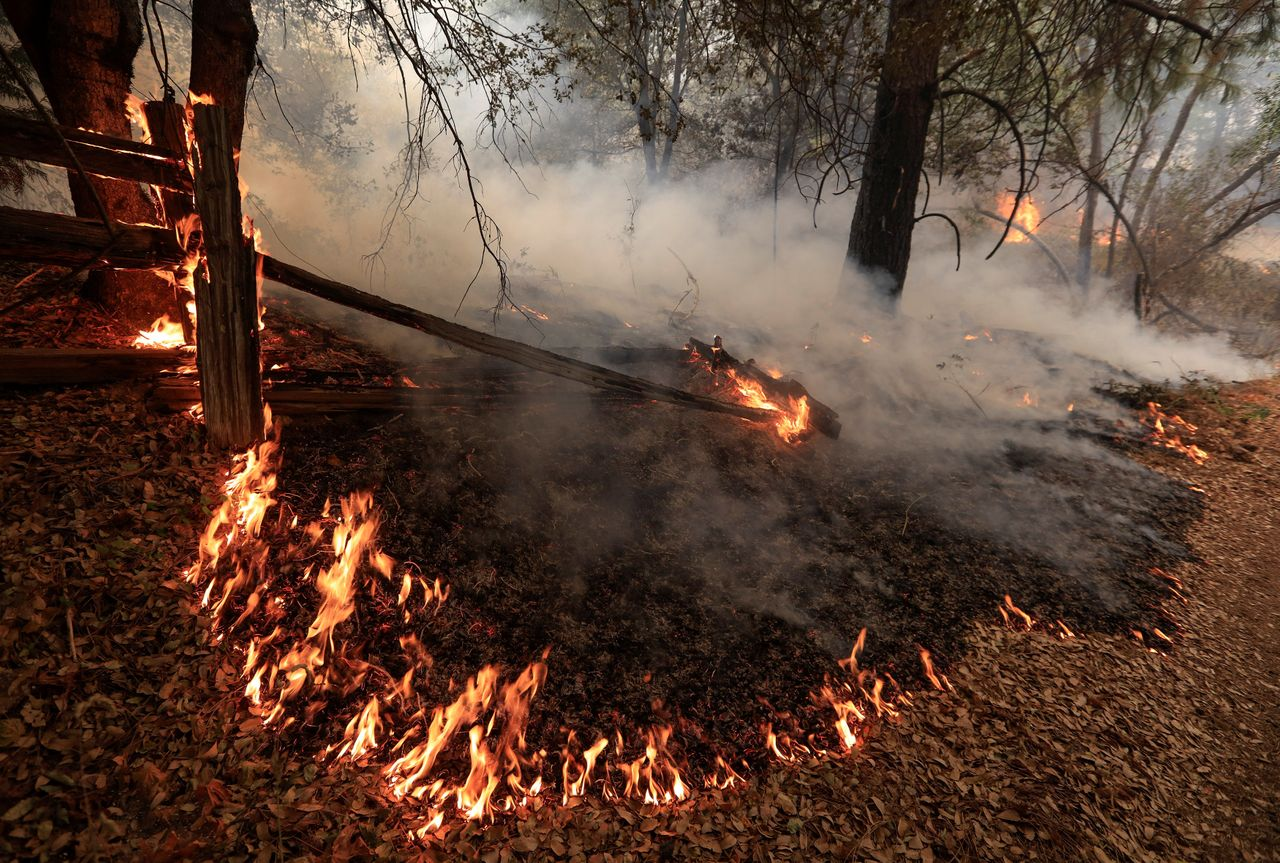 Fire crews also have battled numerous small brushfires this summer, most charring only a few acres but still threatening homes in built-up areas along parched foothills.