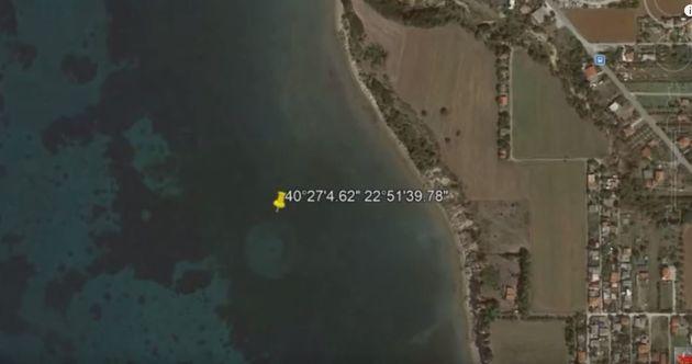Google Maps: Τεράστιο Αγνώστου Ταυτότητας Υποβρύχιο Αντικείμενο εντοπίστηκε στο βυθό του