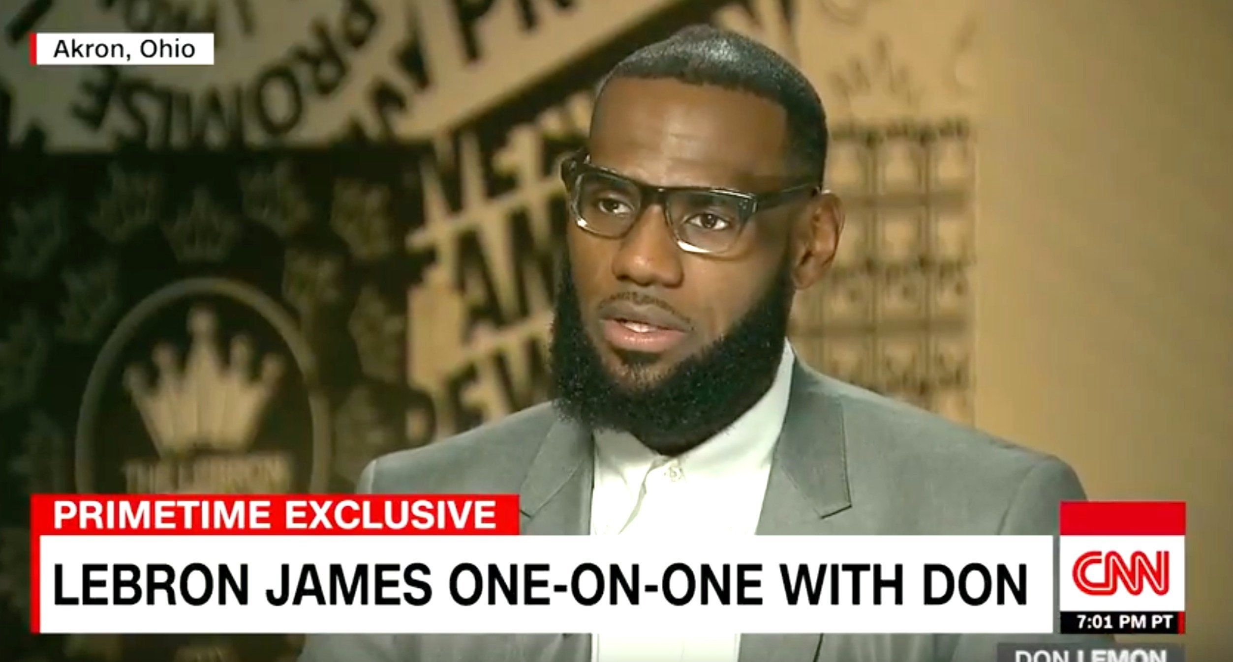 LeBron James Is Done With Trump: 'I Would Never Sit Across From Him'