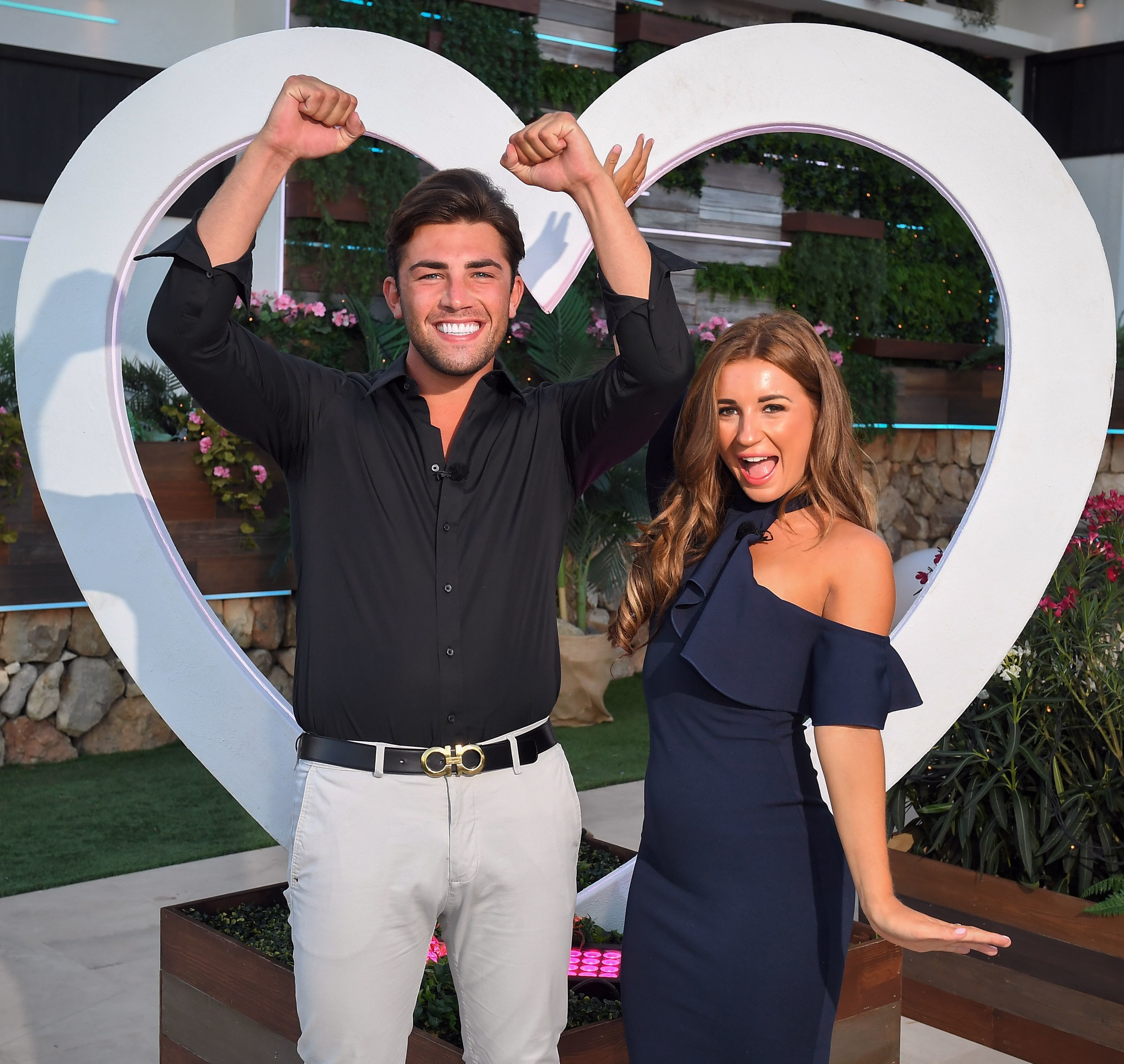 Jack and Dani won the last series of 'Love