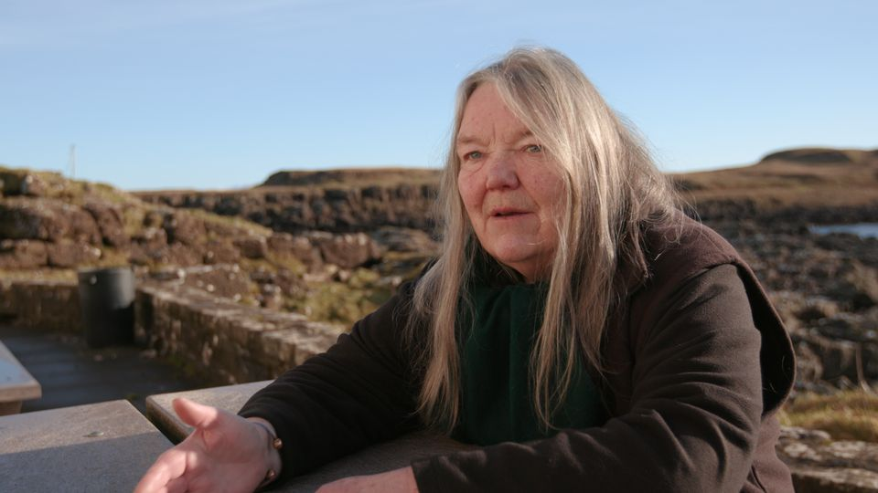 Maggie Fyffe moved to the Isle of Eigg in the 1970s and is secretary of the Isle of Eigg Heritage