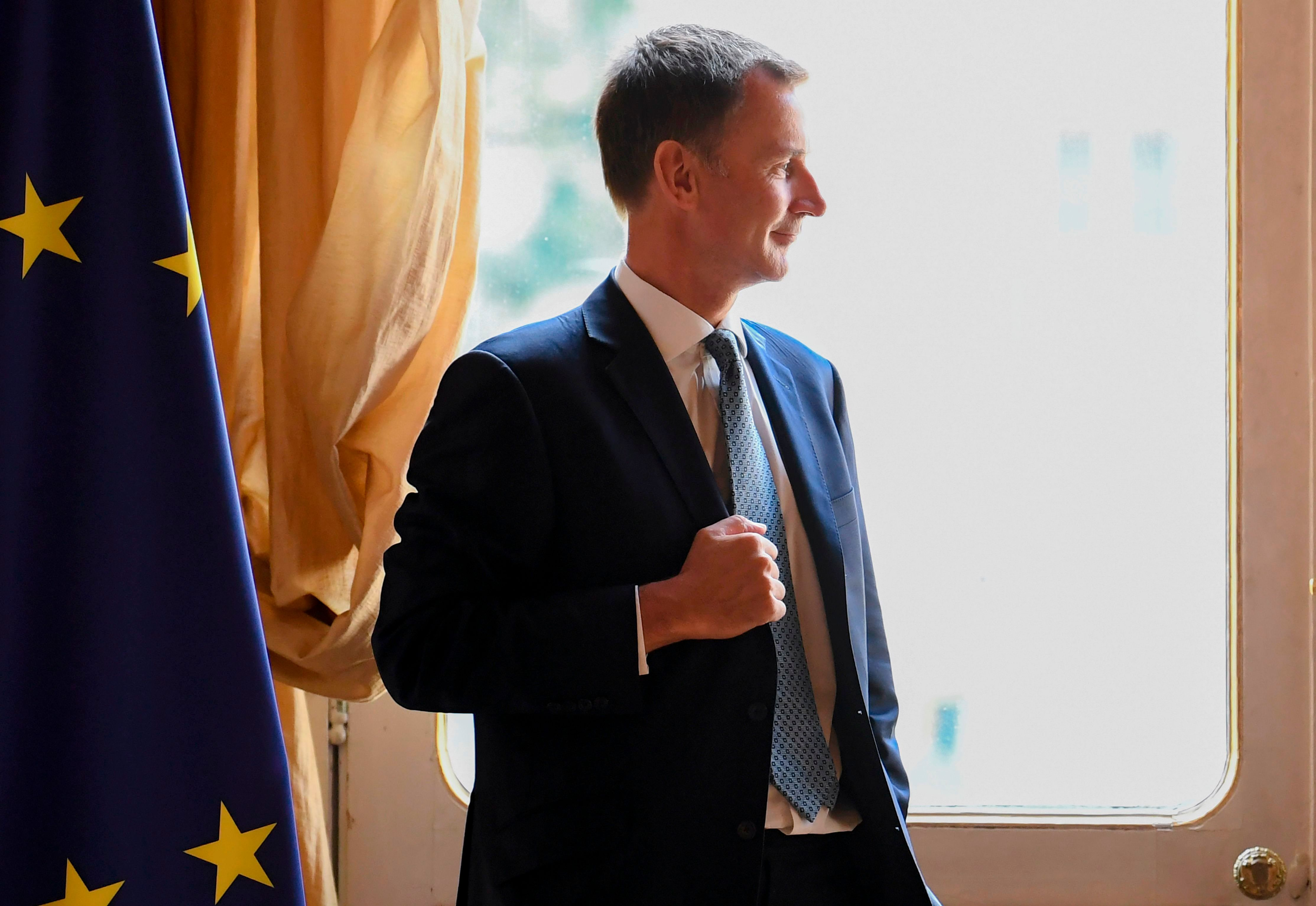 Jeremy Hunt Warns Chance Of No Deal Brexit 'Increasing By The Day'