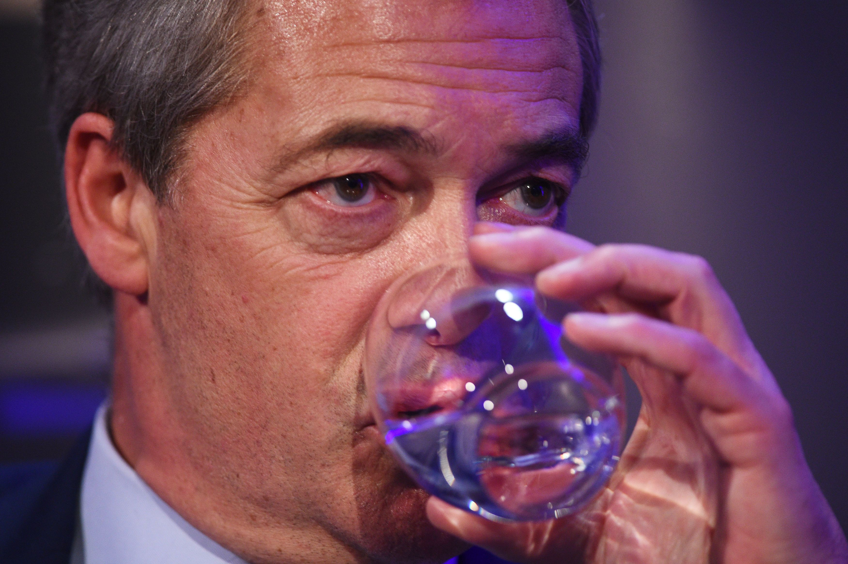 A Vet Called Into Farage's Radio Show And Schooled Him So Hard He Was