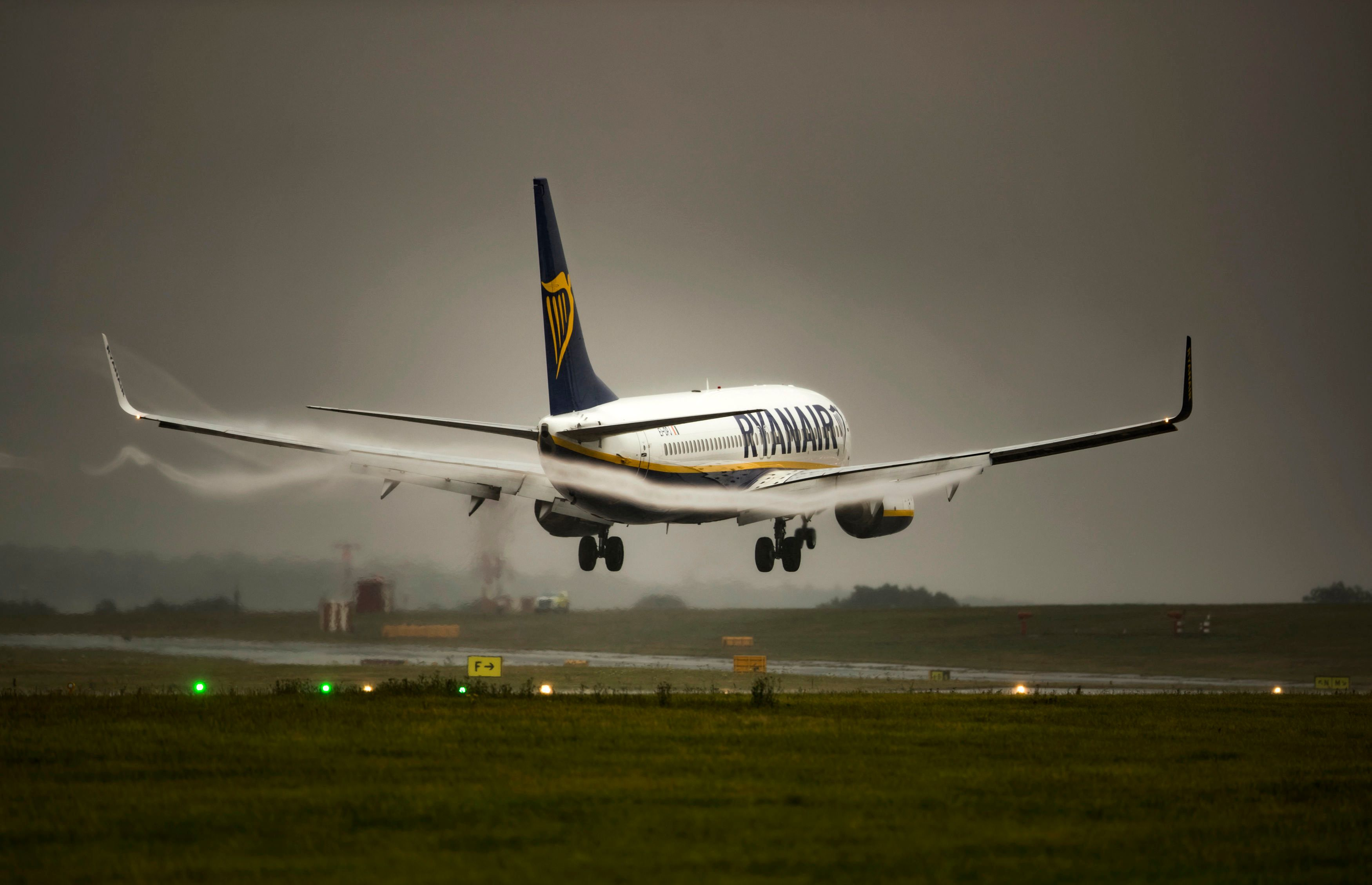 Flights disrupted at Stansted Airport due to bad weather