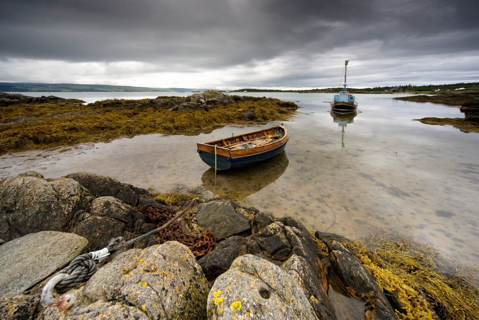 The Isle of Gigha in Scotland was purchased by the community in 2002.
