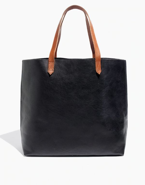 """<a href=""""https://www.madewell.com/the-transport-tote-53228.html"""" target=""""_blank"""">Get it at Madewell</a>, $168."""