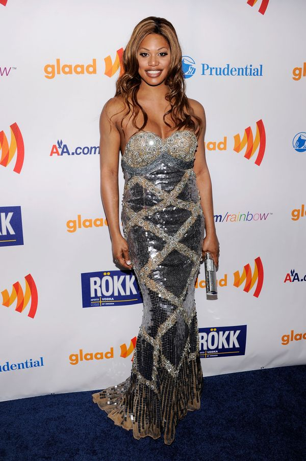 At the 22nd Annual GLAAD Media Awards presented on March 19 in New York City.