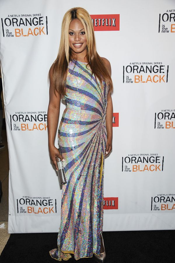 """At the """"Orange Is the New Black"""" New York premiere at the New York Botanical Garden on June 25."""