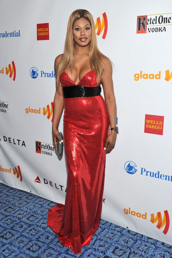 At the 23rd Annual GLAAD Media Awards presented on March 24 in New York City.