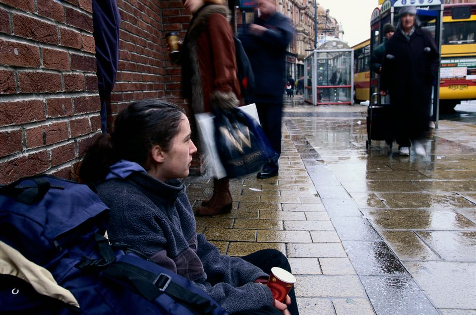 Vulnerable people could end up on the streets if government housing proposals are given the green light, charities have warned (stock image)