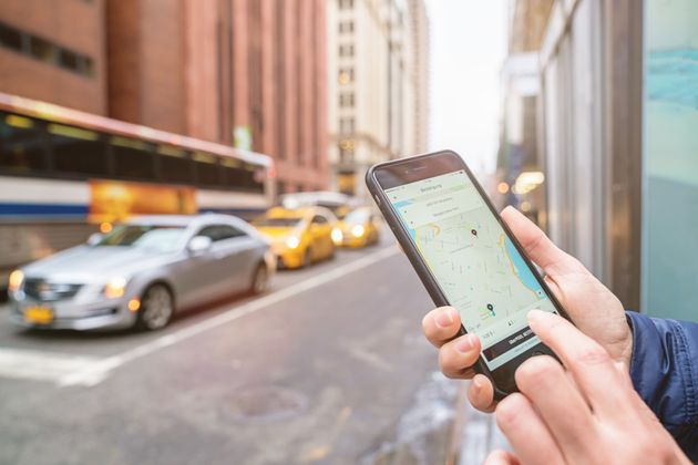 When calling an Uber or Lyft, choose the safest places get picked up and dropped
