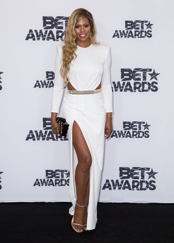 At the 2015 BET Awards press room on June 28 in Los Angeles.