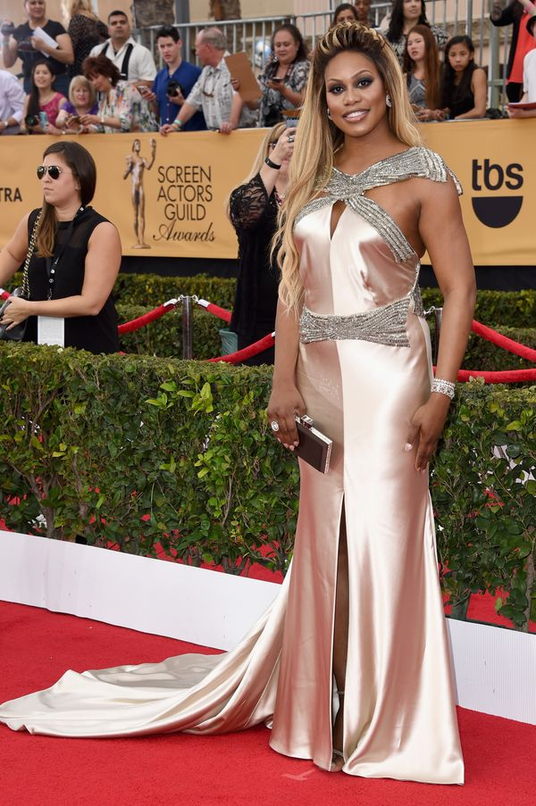 At the21st Annual Screen Actors Guild Awards at the Shrine Auditorium on Jan. 25 in Los Angeles.