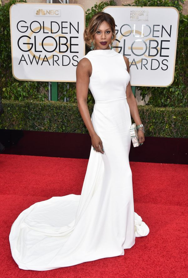 At the 73rd Annual Golden Globe Awards at the Beverly Hilton Hotel on Jan. 10 in Beverly Hills.