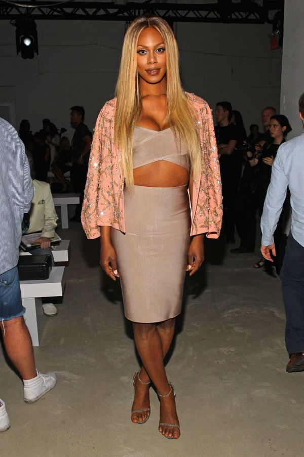 At theIdan Cohen spring 2016 fashion show at New York Fashion Week on Sept. 11 in New York City.