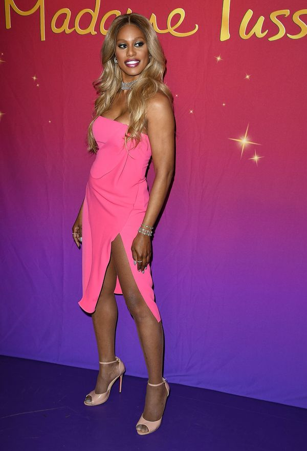 At the unveiling of her wax figure atMadame Tussauds Hollywood on Oct. 13 in Hollywood.