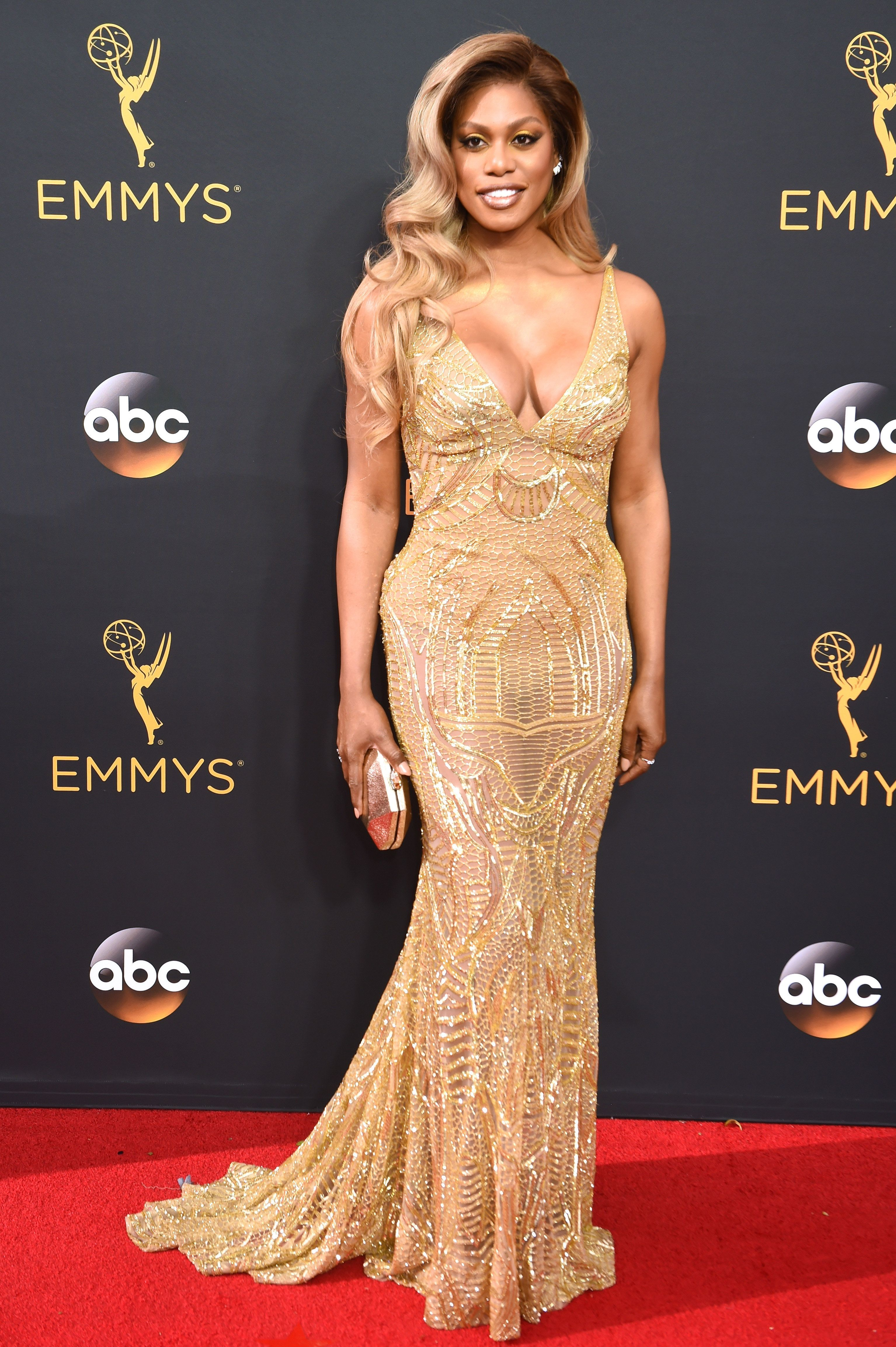 At the 68th Primetime Emmy Awards at Microsoft Theater on Sept. 18 in Los Angeles.