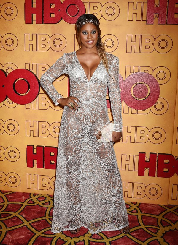 At HBO's post-Emmy Awards reception at The Plaza at the Pacific Design Center on Sept. 17 in Los Angeles.