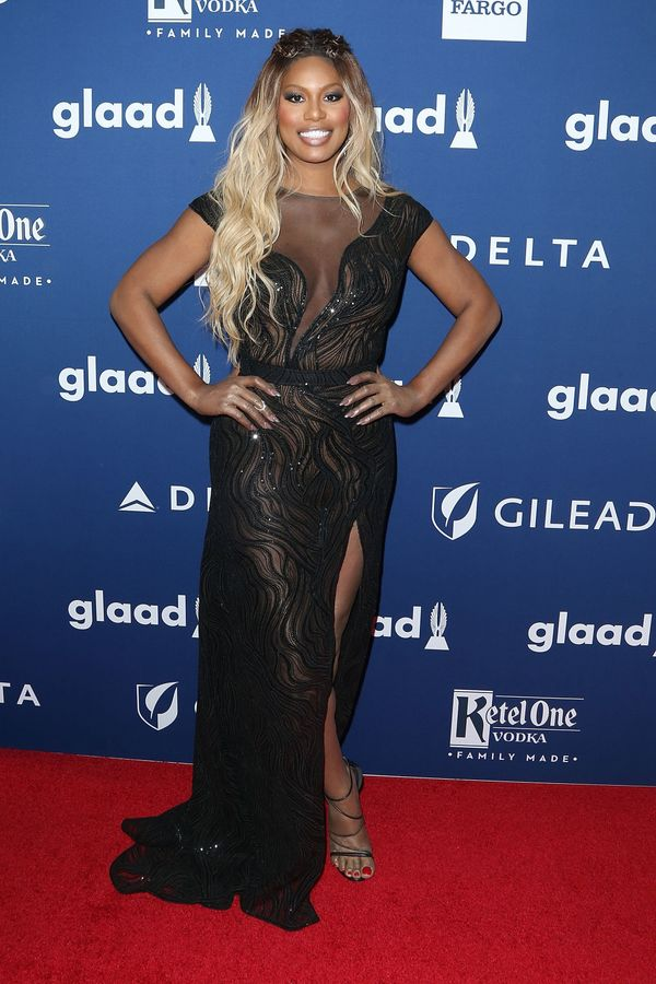 Atthe 29th Annual GLAAD Media Awards at the New York Hilton Midtown on May 5 in New York City.