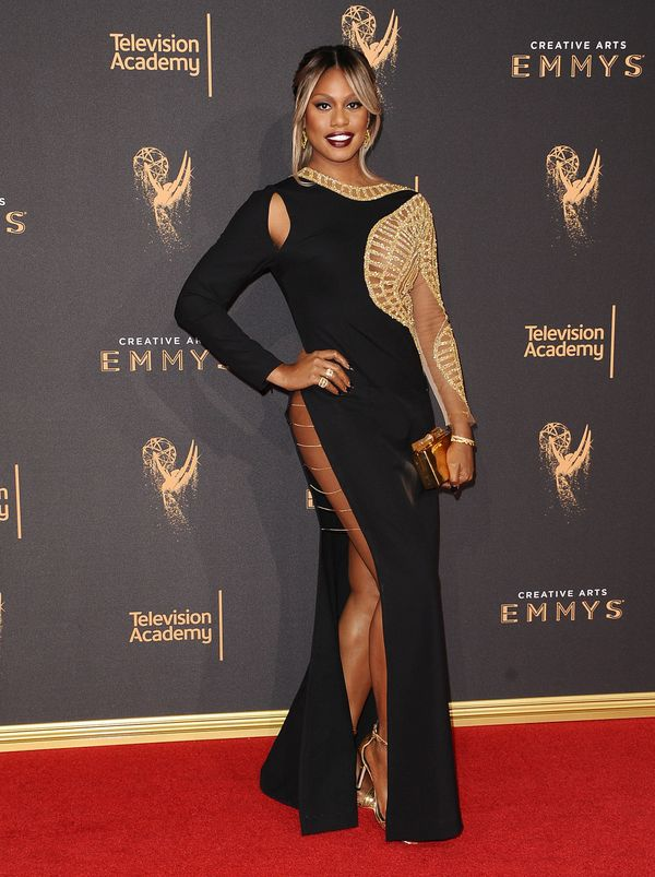 At the Creative Arts Emmy Awards at Microsoft Theater on Sept. 10 in Los Angeles.