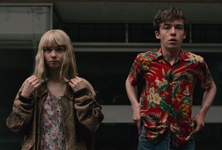 """""""The End of the F***ing World"""" stood out on Netflix earlier this year."""