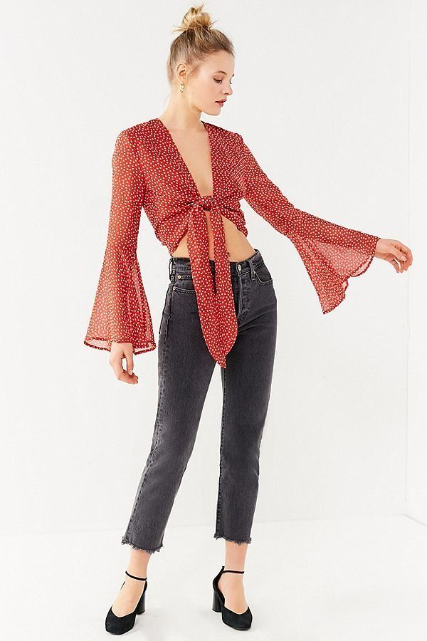 589a243f1cd10 20 Front-Tie Crop Tops That ll Pull Together Any Look