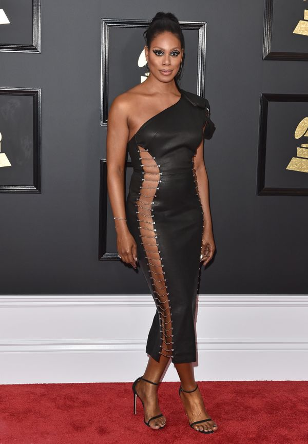 At the59th Grammy Awards atStaples Center on Feb. 12 in Los Angeles.