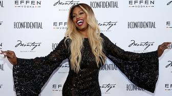BEVERLY HILLS, CA - JUNE 04:  Laverne Cox attends the Los Angeles Confidential Celebration for Portraits of Pride with GLAAD and Laverne Cox on June 4, 2018 in Beverly Hills, California.  (Photo by Phillip Faraone/Getty Images for Los Angeles Condfidential)