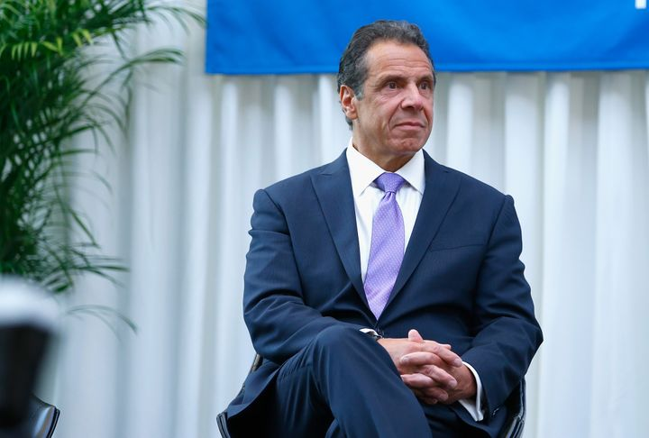 New YorkGov. Andrew Cuomo (D) attends the Madison Square Garden celebration of Billy Joel's 100th lifetime show at Madi