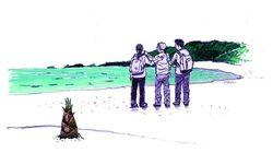 7년 전 쓰나미가 휩쓴 일본 미야기현의 올레길을