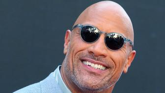 NEW YORK, NY - JULY 10:  Actor Dwayne Johnson attends the 'Skyscraper' New York premiere at AMC Loews Lincoln Square on July 10, 2018 in New York City.  (Photo by Jim Spellman/WireImage)