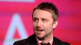 "Television host Chris Hardwick takes part in a panel discussion of the BBC America's new talk show ""The Nerdist"" during the 2013 Winter Press Tour for the Television Critics Association in Pasadena, California, January 5, 2013. REUTERS/Gus Ruelas (UNITED STATES - Tags: ENTERTAINMENT HEADSHOT)"