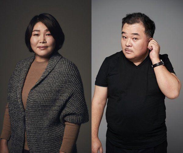 한 쌍의 연기파 배우 커플이