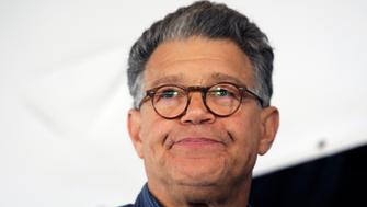 Senator Al Franken (D-MN) meets with constituents at Minnesota Farmfest in Redwood County, August 6, 2014. REUTERS/Craig Lassig (UNITED STATES - Tags: AGRICULTURE POLITICS HEADSHOT)