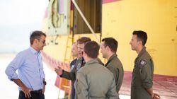Μητσοτάκης: Προτεραιότητα η επισκευή και συντήρηση των πυροσβεστικών