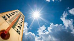 Temps très chaud, fortes rafales de vent et averses orageuses annoncés ces trois prochains