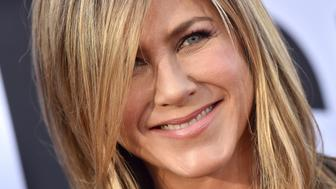 HOLLYWOOD, CA - JUNE 07:  Actress Jennifer Aniston arrives at the American Film Institute's 46th Life Achievement Award Gala Tribute to George Clooney on June 7, 2018 in Hollywood, California.  (Photo by Axelle/Bauer-Griffin/FilmMagic)