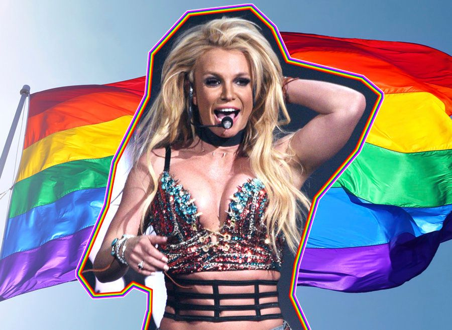 Things Everyone Seeing Britney Spears At Brighton Pride Is Currently Experiencing