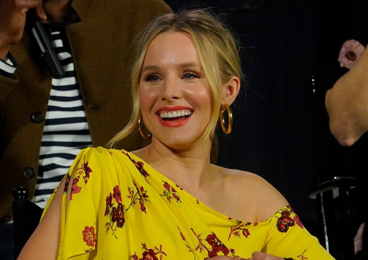 """Kristen Bell, the star of """"The Good Place,"""" has advice for parents who ask their kidsabout their day at school and want more than a simple, """"Fine."""""""