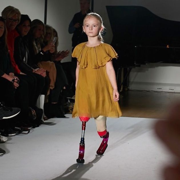 8-Year-Old With Prosthetic Blades Steals The Show In River Island's Activewear