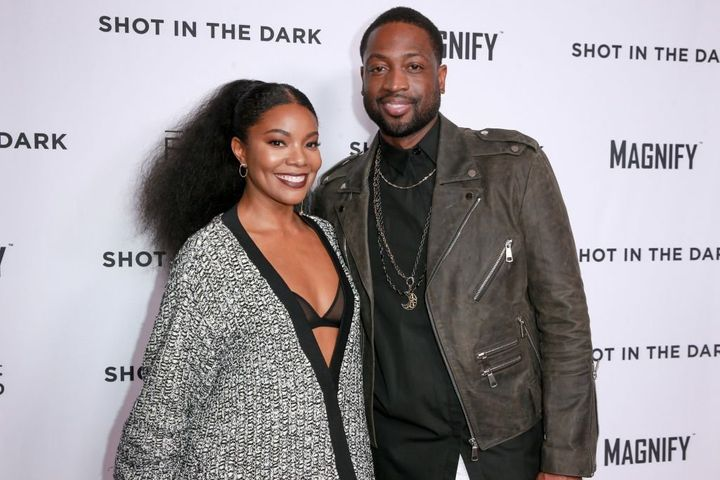 Gabrielle Union and Dwyane Wade attend a screening on Feb. 15 in West Hollywood, Calif.