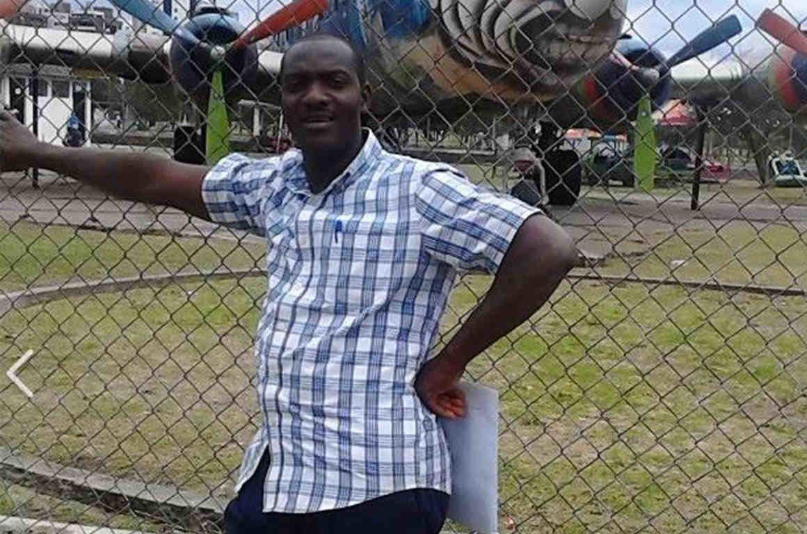 Ansly Damus an asylum-seeker from Haiti