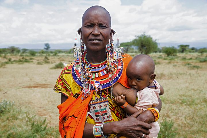 Boyadjieva spent five days with the Maasai tribe in Kenya.