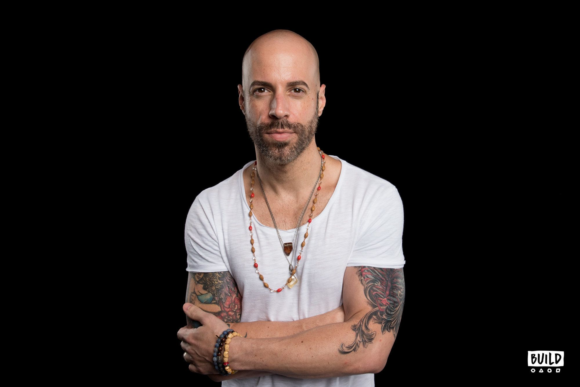 Chris Daughtry visits Build Studio on July 27th 2018. Photo by Mike Pont.
