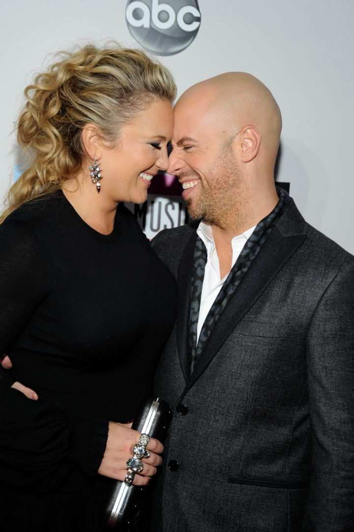 """Deanna and Chris Daughtry in 2011. They co-wrote """"As You Are,"""" a ballad on the new album."""