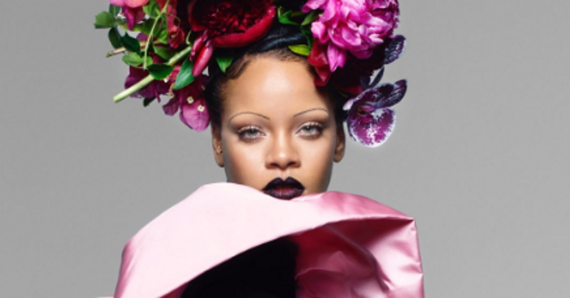 Please Don't Pluck Your Eyebrows To Copy Rihanna's Vogue Look