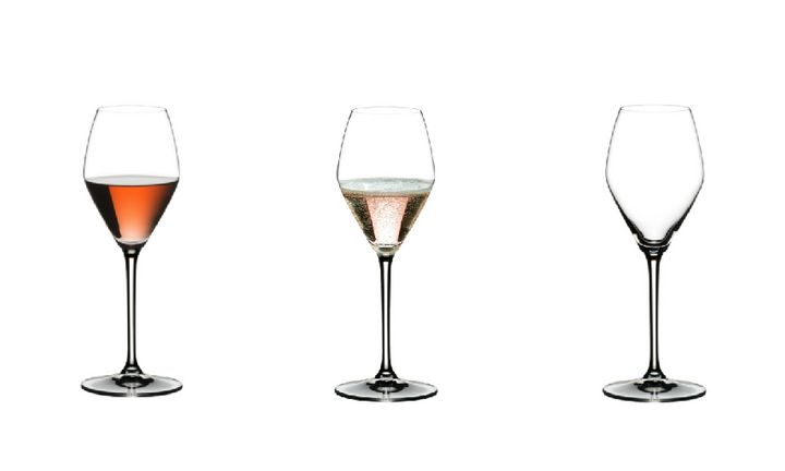 Riedel's Extreme Rosé glasses were the result of four years of research.
