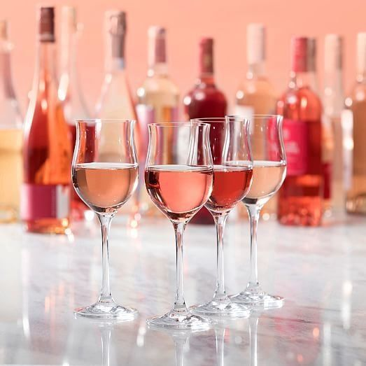 Schott Zwiesel's Rosé All Day glasses sell for $40 for a set of four.